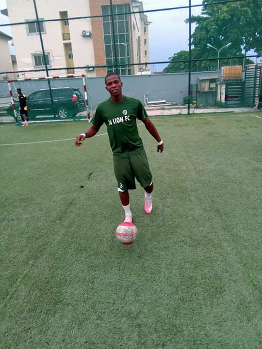 Hanging onto a footballing dream