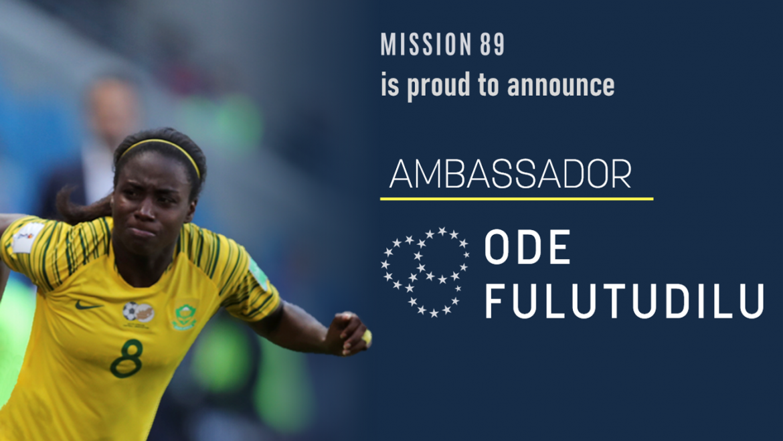 Ode Fulutudilu Announced as Mission 89 Ambassador