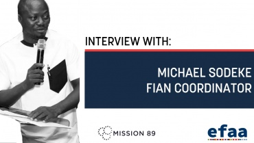 Interview with Michael Sodeke